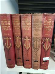 Sale 8659 - Lot 2373 - Volumes 1-5 Knight, S.M. The History of the Great European War its causes & Effects, pub. Standard Pub. Co.,