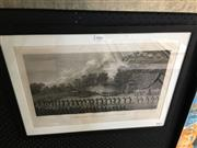 Sale 8674 - Lot 2049 - John Webber (1752 - 1793), The Natchez, a Ceremony in Honour of the Kings Son, in Tonga taboo, engraving, 45 x 61cm (frame size)