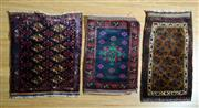 Sale 8372C - Lot 65 - Three Pieces Of Persian Doormats, 80 x 60cm
