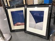Sale 8789 - Lot 2057 - Simon Hohnen - Opera House & Breast colour photograph, 83 x 53cm (frames) signed and dated lower right