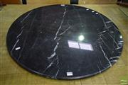 Sale 8532 - Lot 1357 - Round Black Granite Table Top Only (Diameter 80cm)