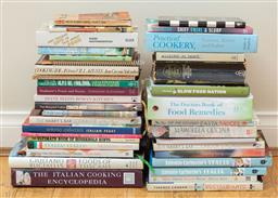 Sale 9165H - Lot 163 - A large collection of cook books