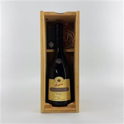 Sale 9189W - Lot 747 - Penfolds 'Grandfather' Fine Old Liqueur Port, Barossa Valley - in timber presentation box with stopper