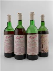Sale 8532W - Lot 56 - 4x 1975 Penfolds Bin 95 Grange Hermitage Shiraz, South Australia - poor condition, not suitable for drinking