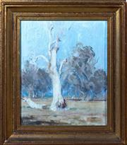 Sale 8800 - Lot 73 - Artist Unknown - The Lone Gumtree 30 x 24cm