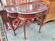 Sale 8566 - Lot 1260 - Cedar Hall table with Drawer (90)