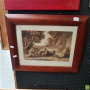 Sale 8636 - Lot 2049 - Claude Lorraine Engraving, 1810 Dated