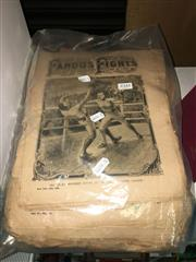 Sale 8659 - Lot 2384 - Collection of Police Budget Edition Famous Fight Magazines, ed. Harold Furness