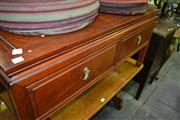 Sale 8093 - Lot 1341 - Coffee Table w 2 Drawers