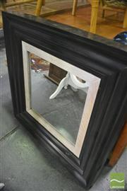 Sale 8386 - Lot 1045 - Timber Framed Mirror