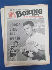 Sale 8419A - Lot 48 - Boxing 1960s - a box containing only 1960s magazines including Boxing News 1967