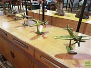 Sale 8532 - Lot 1064 - 5 RAAF Brass Plane Models