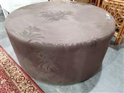 Sale 8740 - Lot 1106 - Round Upholstered Ottoman