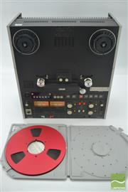 Sale 8370 - Lot 1828 - Otari Stereo Reel To Reel Recorder With a Quantegy Recording Tape in Box (Model No. MX 55T) (Serial No. 18800317D)