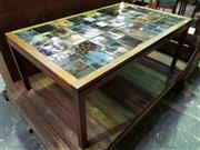 Sale 8661 - Lot 1047 - Vintage Tiled Top Coffee Table