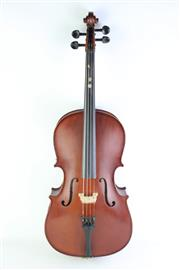 Sale 8835 - Lot 434 - Students (Childs) Cello In Case & Violin in Case