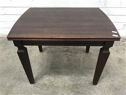 Sale 9102 - Lot 1053 - Timber occasional table (h:45 x w:58 x d:45cm)