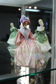 Sale 8261 - Lot 3 - Royal Doulton Figure Meriel by Leslie Harradine