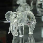 Sale 8336 - Lot 58 - Swarovski Crystal 1993 Inspiration Africa 'Elephant'