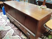 Sale 8435 - Lot 1025 - G Plan Fresco Sideboard with Concertina Doors