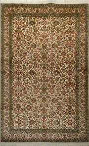 Sale 8402C - Lot 2 - Superfine Kashmiri Silk 155cm x 230cm