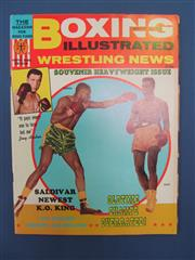 Sale 8419A - Lot 51 - Boxing Illustrated - a box containing only complete issues of Boxing Illustrated 1965-1972, including many Ali covers