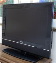 Sale 8800 - Lot 197 - A Telefunken TV on stand with remote and instructions