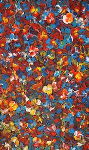 Sale 8611A - Lot 5047 - Tess M - Wild Bush Flowers 124 x 81cm