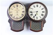Sale 8873 - Lot 87 - Set Of Four Timber Cased Clocks (Sold As Found), (One From State Penitentiary)