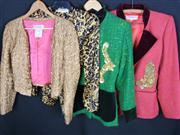 Sale 7982B - Lot 138 - Yves Saint Laurent, four jackets of various designs (Size 38)