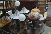 Sale 8326 - Lot 1214 - Large Collection of Table Lamps (8)