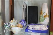 Sale 8365 - Lot 94 - Royal Doulton Cabinet Plate with Other Ceramics Incl. Cherry Blossom Ginger Jar