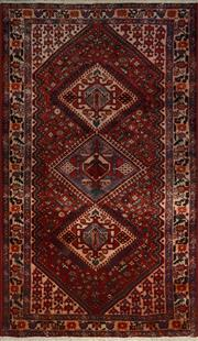 Sale 8402C - Lot 3 - Persian Hamadan 293cm x 160cm