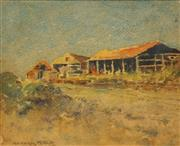 Sale 8631 - Lot 2012 - Georges Millet - Country Residence 18 x 22cm