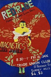 Sale 8696A - Lot 5054 - Artist Unknown - RED RACE: Marxist Summer School Dance (at Trade Union Club, Surry Hills) 76 x 51cm
