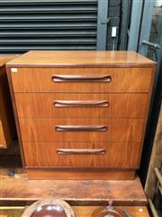 Sale 8859 - Lot 1074 - G-Plan Teak 4-Drawer Chest