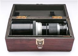 Sale 9093 - Lot 7 - A Leitz Telyt-1:5- 400mm Lens (Nr. 1486120), Fitted In Custom Vintage Box