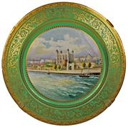 Sale 8268A - Lot 37 - MINTON FINE HAND PAINTED CHARGER