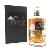 Sale 8687 - Lot 902 - 1x Suntory Whisky 21YO Hibiki - Mount Fuji Limited Edition Blended Japanese Whisky - 43% ABV, 700ml, in presentation box