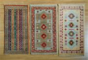 Sale 8372C - Lot 17 - Three Pieces Of Afghan Chobi, 60 x 90cm