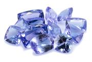 Sale 8946 - Lot 352 - A PARCEL OF UNSET TANZANITES; various cushion cuts total 11.95ct.