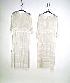 Sale 3741 - Lot 466 - Two 1920s white muslin dresses.