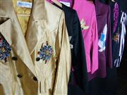 Sale 7982B - Lot 140 - Yves Saint Laurent, six 1980s dinner jackets of various sizes and design