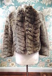 Sale 8577 - Lot 76 - Lush vintage faux fur jacket by Stanleys Creation Melbourne, size 10 - 12, Condition: Excellent