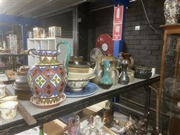 Sale 9101 - Lot 2359 - Collection of studio pottery inc Bendigo and other examples incl Araabia Ware