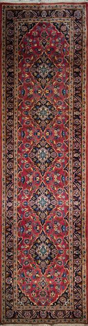 Sale 8323C - Lot 15 - Persian Kashan 350cm x 100cm RRP $1600
