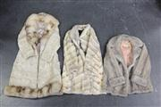 Sale 8436 - Lot 9 - Berkeley Fur Jacket with 2 Others