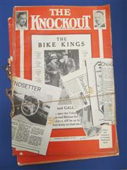 Sale 8419A - Lot 54 - Its a Knockout! - 2 boxes of 1930s The Knockout; t/w 100s of cuttings, mostly 1930s-1950s, neatly organised