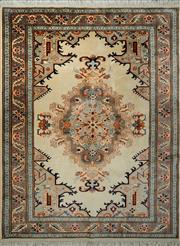Sale 8439C - Lot 55 - Persian Lilian 198cm x 156cm