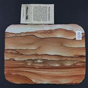 Sale 8567 - Lot 635 - Picture Sandstone